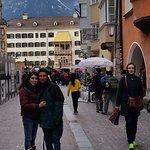 Es luna de miel con mi esposa y esta ciudad bella que te permite tener a los Alpes muy cerca de