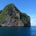 Cliffs around the Koh Phi Phi