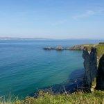 northern coast of Ireland