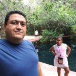 Cenote principal para esnorquelear