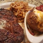 Steak at Steamboats