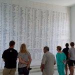 The memorial room...