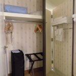 Closet Storage Area in Bathroom