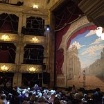 The beautiful interior of The Theatre Royal