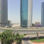 View From on of the One Bedroom Deluxe Apartment of The Apartments Dubai World Trade Center