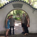 Outside the Chinese Garden