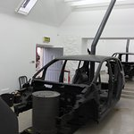 Car body shell/stove instead of engine