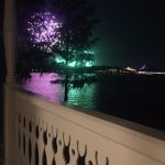 Balcony Fireworks