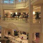 Lobby where the Band plays on 2nd Floor