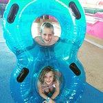My kids LOVED the tube slides!