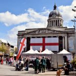 St George day in Nottingham