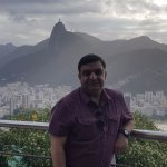 See Cristo Redentor in the far distance