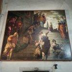 Presentación de la Virgen en el templo. Tintoretto