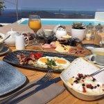 Breakfast at the La Maltese Estate
