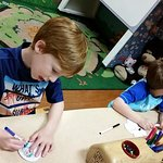 Arts & Crafts Cub Club room