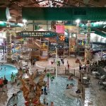 Main waterpark area