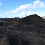 Krafla Lava Fields Foto