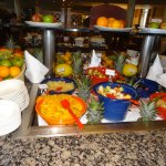 Breakfast buffet - fruits