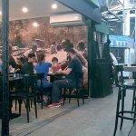 Café localizado dentro do mercado San Telmo. Cuidado!!!