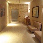 ingresso area sauna/bagno turco