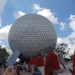 This is the famous EPCOT Sphere