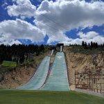 bottom of nordic ski jump