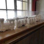 Reconstitution du petit train en gros sel