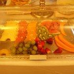Fresh seasonal fruits.