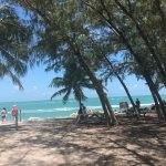 Love this beach. It's my favorite in Key West.  Plenty of shade if you need it. The views are am