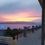Superb sunsets from the bar terrace.