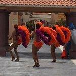 Poolside Dancers
