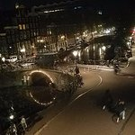 Looking right down on Canal - beautiful at night!