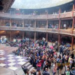 """Balcony and """"Groundling"""" Area of Theatre"""