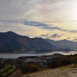 View of Wanaka and Lake Wanaka