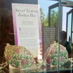 """""""Star of Victoria"""" fantasy bra with over 2,000 rubies and emeralds"""