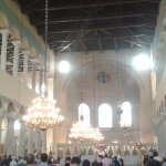 Panagia Achiropiitos during Sunday's Mass