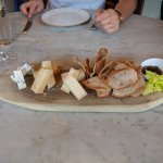 Sharing the wonderful Italian cheese board
