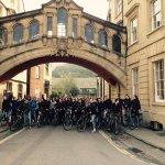 Dutch School group on our Official Oxford Tour - Bridge of Sighs