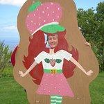 A strawberry girl!