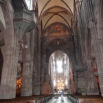 inside of Freiburg cathedral