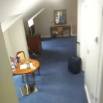 Entrance into the room