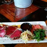Seared tuna appetizer (great for lunch)