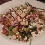 grilled veggie salad- Yum!