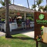 Juice Bar near beach