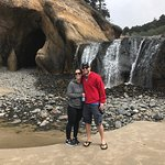 Short walk to gorgeous beach and waterfall
