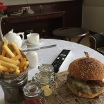 In room best burger I've eaten for a long time!