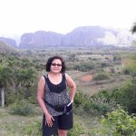 Vinales Mountain at the background