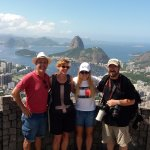 View of the City of Rio de Janeiro from the Dona Marta View Point at the Tijuca National Park