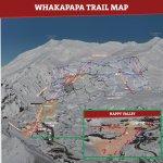 Whakapapa Trail Map 2017
