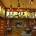 The Storyteller restaurant...best breakfast buffet...good lunch, too.